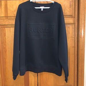 Hunter for Target black long sleeve sweatshirt